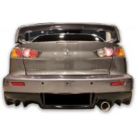 Mitsubishi Lancer 2009 Sonrası Evo 10 Arka Tampon (Kırılmaz - Plastik)