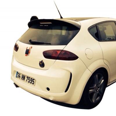 Seat Leon MK2 2005-2012 Arka Tampon (Fiber)