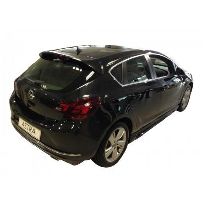 Opel Astra J HB Makyajlı (2013-2015) Arka Tampon Eki - Difüzör (Plastik)