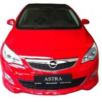 Opel Astra J HB 2011 - 2013 Makyajsız Stainmetz Ön Tampon Ek (Plastik)