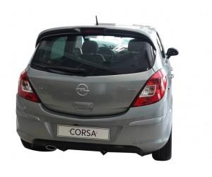 Opel Corsa D (2007-2015) Arka Tampon Eki - Difüzör (Plastik)