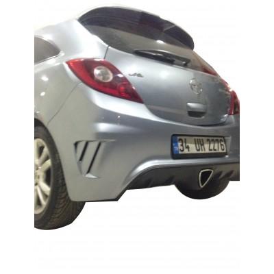 Opel Corsa D OPC Body Kit (Fiber)   2 Kapı, 4 Kapı, Makyajlı ve Makyajsız Modellerine Uyumlu