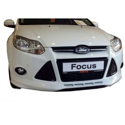 Ford Focus 3 HB (2012-2015) Ön Tampon Ek (Plastik)