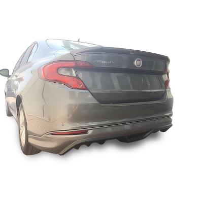 Fiat Egea Sedan (2015 - 2018) Arka Tampon Eki - Difüzör (Plastik)