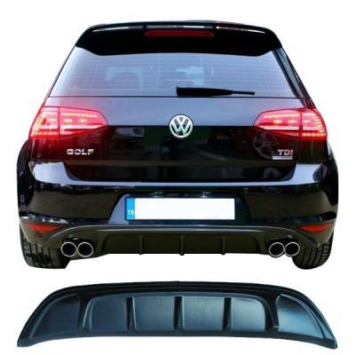 Volkswagen Golf 7 (2012-2016) Arka Tampon Eki - Difüzör (Plastik)