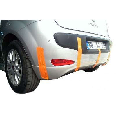 Fiat Punto EVO (2010 Sonrası) Arka Tampon Eki - Difüzör (Plastik)
