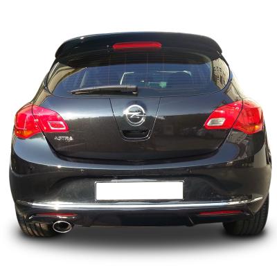 Opel Astra J HB Irmscher (2011-2013) Arka Tampon Eki - Difüzör (Plastik)