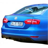 Volkswagen Jetta 2010 - 2014 R Model Arka Tampon Eki - Difüzör (Plastik)