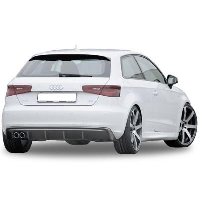Audi A3 8V 2012 - 2016 Rieger Difüzör (Plastik)