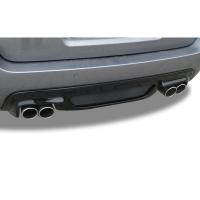 Bmw 5 Serisi E60 M5 Arka Tampon Eki - Difüzör (Plastik)