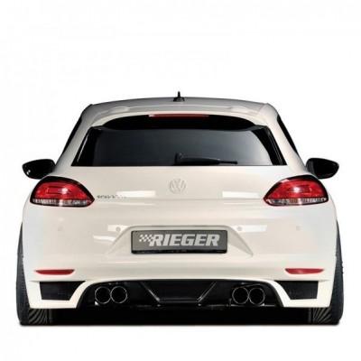 Volkswagen Scirocco (2009-2014) Arka Tampon Eki - Difüzör (Plastik)