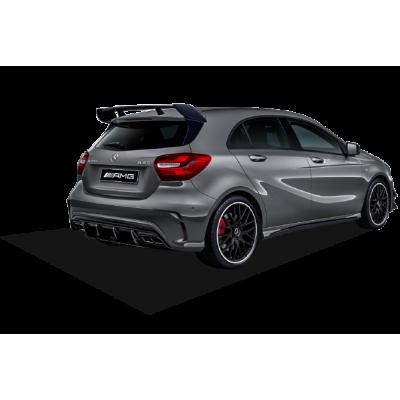 Mercedes A Serisi W176 (2015-2018) Yeni A45 Difüzör (Plastik)