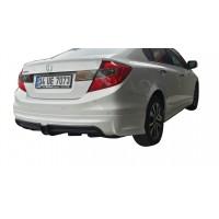 Honda Civic FB7 (2012-2016) Mugen RR Arka Tampon Eki - Difüzör (Plastik)