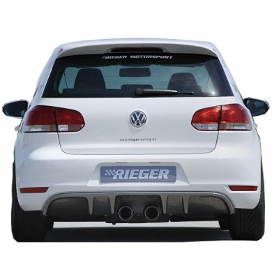 Volkswagen Golf 6 (2009-2012) Arka Tampon Eki - Difüzör (Plastik)