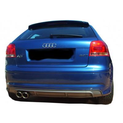 Audi A3 8P S3 2 Kapı Difüzör (Plastik)