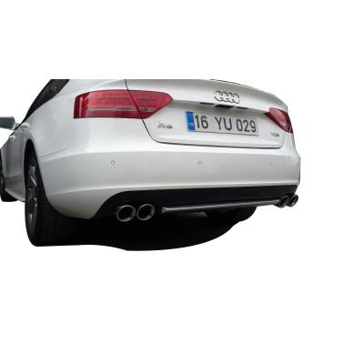 Audi A5 B8 2008 - 2011 Sportback Difüzör (Plastik)