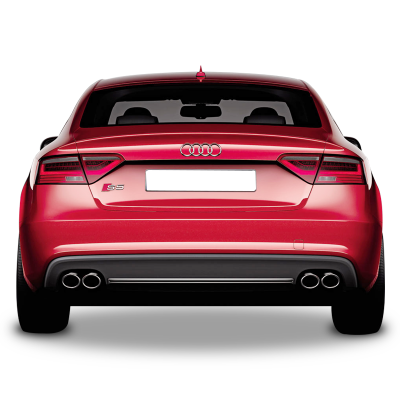 Audi A5 B9 Sportback S5 Arka Tampon Eki - Difüzör (Plastik)