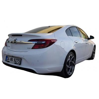 Opel İnsignia (2014-2016) Makyajlı Arka Tampon Eki - Difüzör (Plastik)