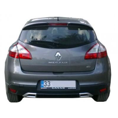 Renault Megane 3 (2009-2013) Sport Difüzör (Plastik)