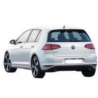 Volkswagen Golf 7 2012 - 2016 GTi Arka Tampon Eki (Plastik)