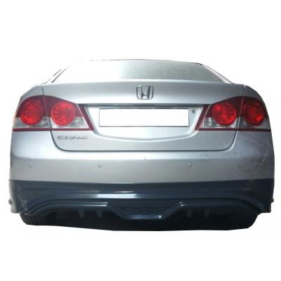 Honda Civic FD6 (2006-2011) Custom Arka Tampon Eki - Difüzör (Plastik)