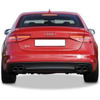 Audi A5 S5 Coupe Arka Tampon Eki - Difüzör  (Taiwan)