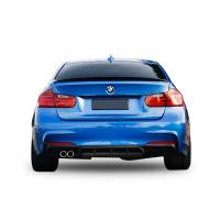 BMW 3 Serisi F30 (2012 - 2018) M Performance Soldan Çift Çıkış Difüzör (Taiwan)