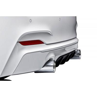Bmw 2 Serisi F22 2014 Sonrası M Performance Difüzör (Plastik)