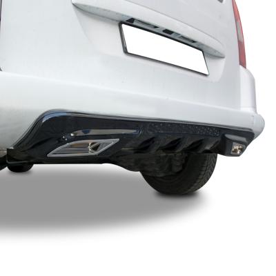Peugeot Partner Teepe Egzoz Görünümlü Universal Difüzör (Plastik)