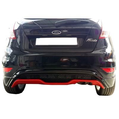 Ford Fiesta (2009-2016) ST Desing Arka Tampon Eki - Difüzör (Plastik)