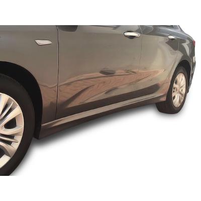 Fiat Egea HB - Sedan (2015 - 2018) Yan Marşpiyel Seti (Plastik)