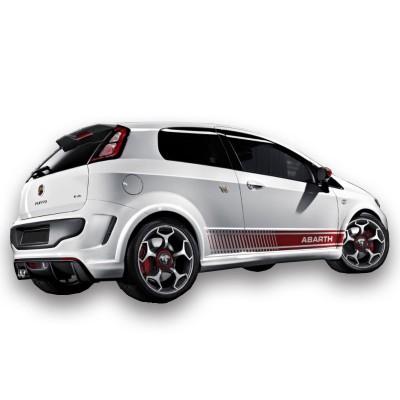 Fiat Punto Evo (2010 ve Sonrası) Yan Marşpiyel Seti (Plastik)