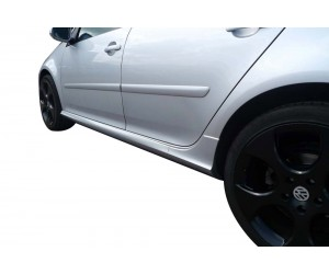 Volkswagen Golf 5 - 6 (2003-2012) GTI Yan Marşpiyel Seti (Plastik)