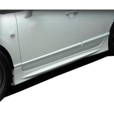 Honda Civic Fd6 (2006-2011) Mugen Yan Marşpiyel Seti (Plastik)
