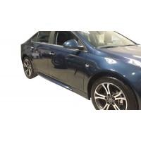 Opel İnsignia 2009 - 2016 İrmscher Yan Marşpiyel Seti (Plastik)