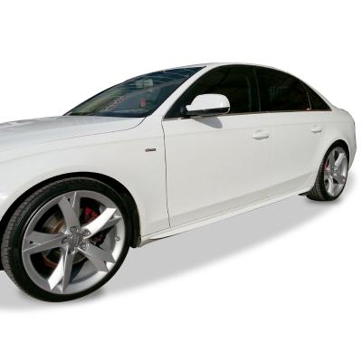 Audi A5 8P3 2008 Sonrası S-Line Yan Marşpiyel Seti (Fiber)