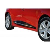 Renault Clio 4 2012 - 2016 Yan Marşpiyel Seti (Plastik)