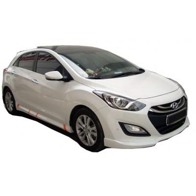 Hyundai İ30 2011 - 2016 Marşpiyel (Plastik)