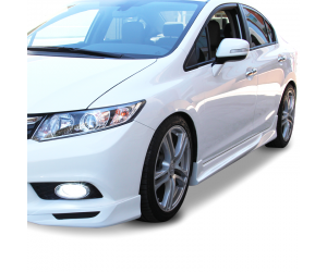Honda Civic FB7 (2012-2016) Custom Yan Marşpiyel Seti (Plastik)