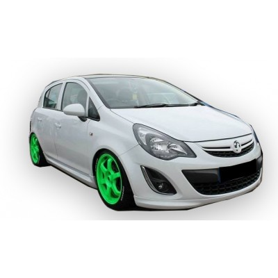 Opel Corsa D 2007 - 2015 OPC Yan Marşpiyel Seti (Plastik)