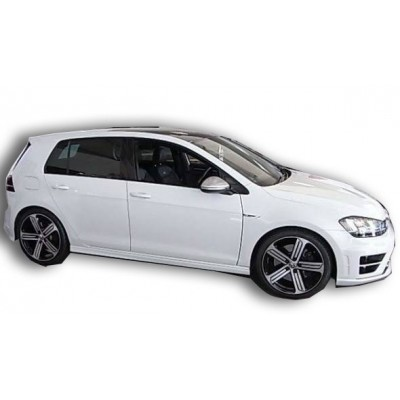 Volkswagen Golf 7-7,5 Series (2012-2020) R Model Marşpiyel Seti (Plastik)