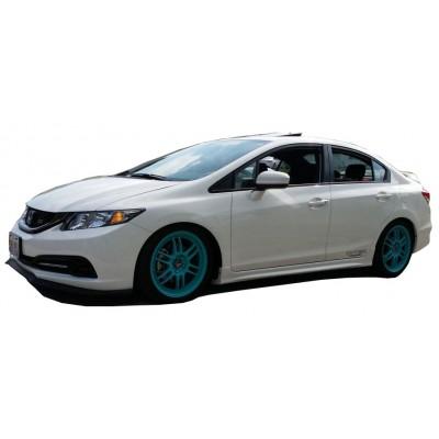 Honda Civic FB7 (2012-2016) Mugen RR Yan Marşpiyel Seti (Plastik)