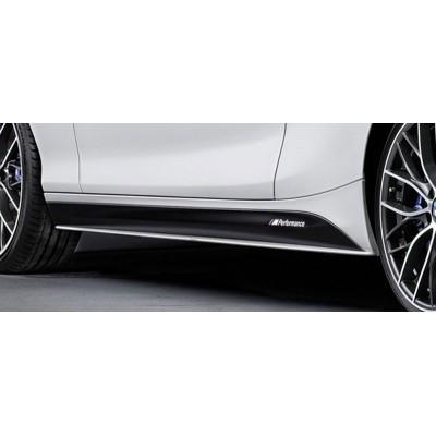 BMW 2 Serisi F22 2014 Sonrası M Performance Marşpiyel Altı Lip (Plastik)
