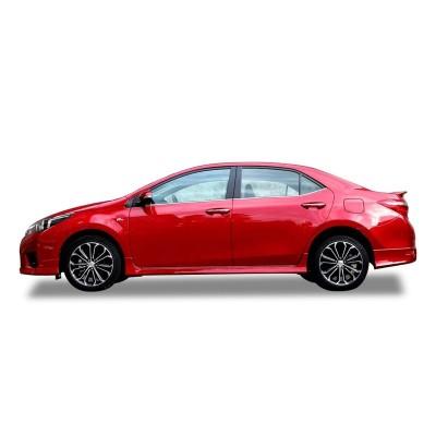 Toyota corolla (2012-2016) Yan Marşpiyel Seti (Plastik)