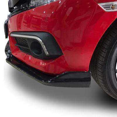 Honda Civic FC5 2016 Sonrası Ön Lip (Plastik)