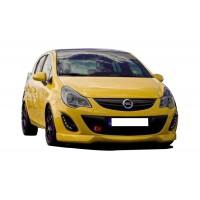 Opel Corsa D (2011 - 2015) Makyajlı Stainmetz Ön Tampon Ek (Plastik)
