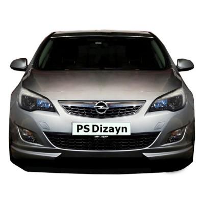 Opel Astra J HB (2011-2013) Makyajsız Ön Tampon Ek (Plastik)