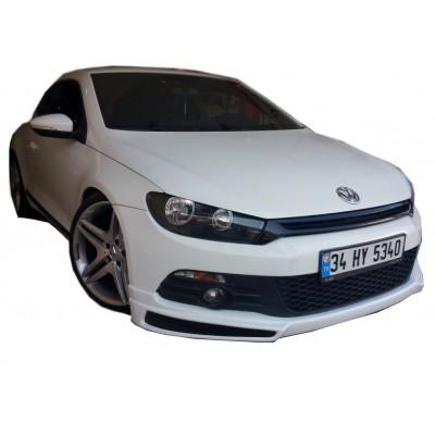 Volkswagen Scirocco (2009-2014) JE Design Ön Tampon Ek (Plastik)