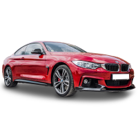 BMW 4 Serisi F32 2013 Sonrası M Performance Ön Flap + Lip (Plastik)