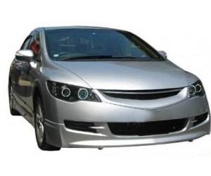 Honda Civic FD6 (2006-2009) Makyajsız Ön Tampon Ek (Plastik)